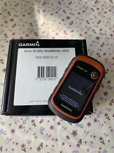 Garmin ETrex 20x Outdoor Handheld Hiking / Cycling GPS Unit.