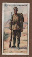 Turkish Infantry Army Soldier Military Turkey Uniform 1920s Trade Ad Card