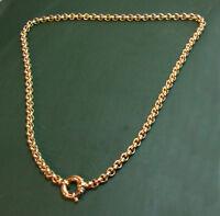 Erstklassiges 750er Juweliers Erbsketten-GOLDCOLLIER • 60 cm • 53,2 g Goldkette