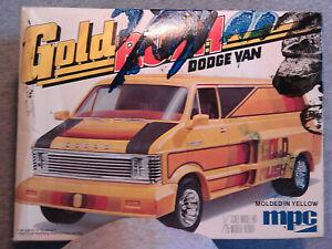 1/25 Scale Vintage MPC Gold Rush Dodge Van Parts Junkyard.