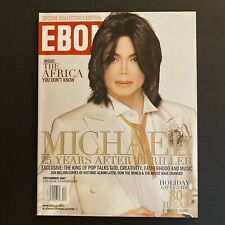 Original EBONY Magazine December 2007 | Michael Jackson Thriller 25 Cover Story