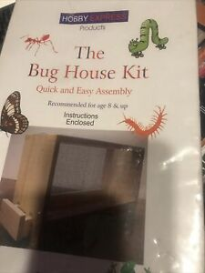 HOBBY EXPRESS BUG HOUSE KIT Level Ages 8 and up