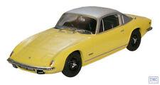 LE001 Oxford Diecast 1:43 Scale Lotus Elan Plus 2 Yellow/Silver