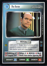 STAR TREK CCG VOYAGER RARE CARD THE DOCTOR