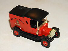 * 1978 * Matchbox * 1912 Ford Model T * Royal Mail GR Red * Lesney * England*