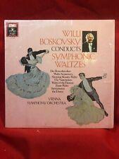 Willi Boskovsky Condusts SYMPHONIC WALTZES Vienna Angel DS537956 33rpm LP [ed6]
