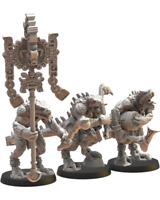 Lost Kingdom Miniatures Ezocamatl Command Group Lizardmen Proxies 9th Age