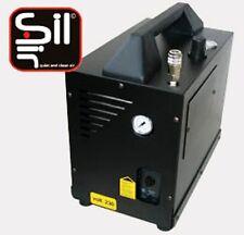 Kompressor Leise mit 58 dB/A, Black-Mamba M90, ölfreie Ausführung, Koffergehäuse