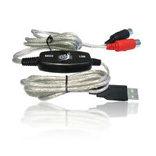 USB to MIDI Keyboard Interface Converter Cable Lead Wire on Windows XP Vista 7