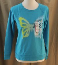Total Girl, Large Plus (14½-16½) Hawaiian Ocean Top, New with Tags