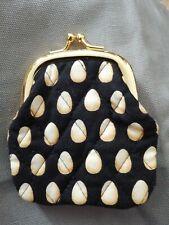 Vera Bradley Coin CHANTICLEER EGG kisslock purse retired(UK £32 post+20%VAT INC)