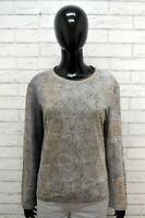 Maglia Maglione Donna ROBERTO CAVALLI Tagliai XL Pullover Cardigan Sweater Woman