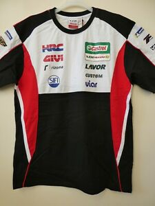 NEW LCR Castrol Honda HRC MotoGP Racing Official Team T-Shirt  XS to XXL
