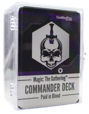 Mtg Magic the Gathering New Player Commander Deck - Paid in Blood Mono Black