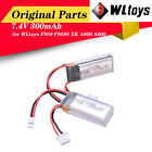 2x WLtoys RC Airplane Battery 7.4V 300mAh Battery for F959 Aircraft XK A800