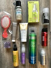 Lot of 12 Hair Care Sampler, Hair Treatment, Accessories, Hair Styling Products