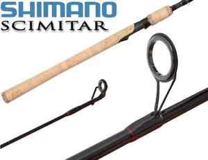 "Shimano Scimitar Salmon/Steelhead 9'6"" Medium Mod-Fast 2PC Spinning Rod SMS96M2B"