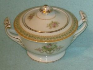 Vintage Adline China Made in Occupied Japan Sugar Bowl