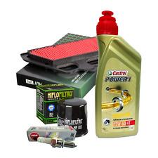 Kit tagliando Castrol Power 1 15W50 filtro olio aria candele Kawasaki Z 900