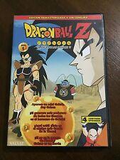 DRAGON BALL Z DVD 1 - CAPS 1 A 4 - 100 MIN - ED REMASTERIZADA SIN CENSURA TOEI