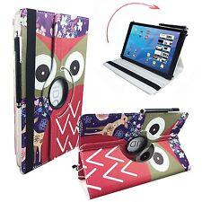 "Hülle Tasche für Apple iPad Pro 9.7 Tablet Cover Etui 360° Reh Eule 9,7"""
