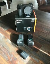 Sony Alpha a6500 24.2MP Digital Camera - Black (Body Only) With Extras