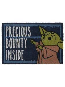 Star Wars Door Mat The Mandalorian Precious Bounty Inside Doormat 40x60cm