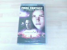 Final Fantasy The Spirits Within Sci-fi Film - UK Release UMD for PSP