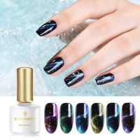 BORN PRETTY 6ml Magnetic Gel Polish Glitter Sequins Purple Soak Off Nail Art Gel