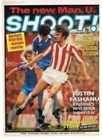 SHOOT football magazine FRONT COVER picture – VARIOUS Teams (Lot 02)