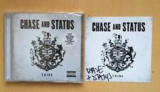 Chase And Status & Tribe CD Album SEALED + SIGNED INSERT CARD with Sticker Proof