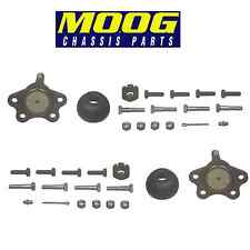 GMC C1500 K1500 Pair Set of 2 Front Upper Bolt-in Type Ball Joints Moog K6292