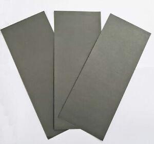 Papel lija fina para plastico, resina y metal 3 unidades 3 x 400 Tectime