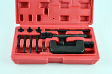Motorcycle Chain Splitter Breaker and Link Riveter Tool Set Red Blow Mould Case