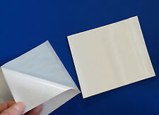 100 6 X 4 12 Clear Box Labels 2 Mil List Self Adhesive Packing Slips Pouches