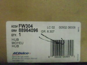 88964096 (FW304) - Hub & Bearing with NO ABS - GM ACDelco OE Service