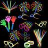 Glow In The Dark Stick Sticks Bracelets Necklaces Lot Necklace Party Favors Pack