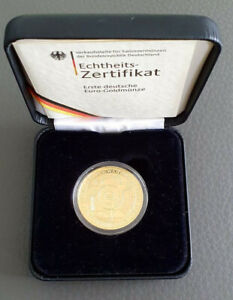 100 Euro Goldmünze 2002 - Übergang zur Währungsunion - Prägestätte - A