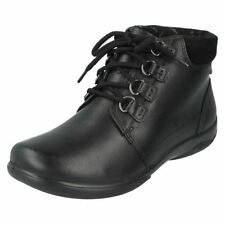 Padders 100% Leather Lace Up Shoes for Women