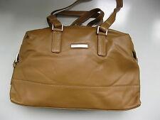 BROWN BEAR - Damentasche- Nappaleder -  Ledertasche - Tasche - beige -  Neu