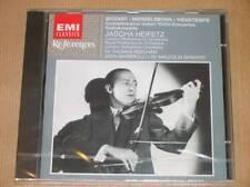 CD / JASCHA HEIFETZ / MOZART, MENDELSSOHN, VIEUXTEMPS / NEUF SOUS CELLO