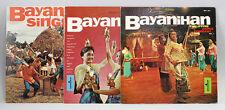 9980472 3x Vinyl LP Bayanihan Philippine Dance Comp. Display Rec Folk Library