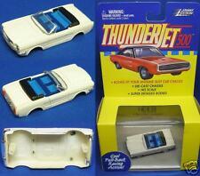 1999 Jl T-Jet Slot Car Clone Body 1965 Mustang Conv wht