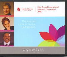 23RD ANNUAL INTERNATIONAL WOMEN'S CONVENTION 2005    5 CDs      Joyce Meyer