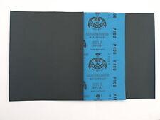 25 x bagnato e asciutto Carta Vetrata 600 grit 1/4 fogli STARCKE IMPERMEABILE LIBRO