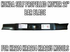 """HONDA SELF PROPELLED MOWER 21"""" BAR BLADE  HR214 HRA214 HRA215 MOWER BLADES"""