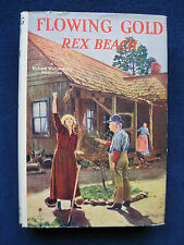 FLOWING GOLD by REX BEACH Vintage Photoplay of ANNA NILSSON Silent Film