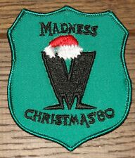 MADNESS ORIGINAL VINTAGE CHRISTMAS 1980 TOUR CLOTH SEWING SEW ON PATCH