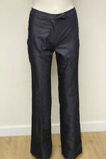 French Connection Cotton Blend Mid Rise Trousers for Women