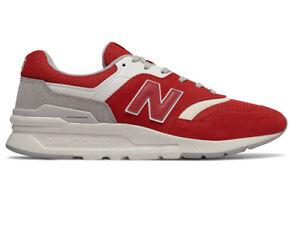 NWOB Men's New Balance CM997HDS  Team/Red   Lifestyles shoes Size us 8-M